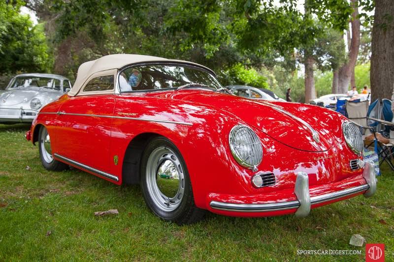 1956 Porsche 356A Speedster, owned by Rick Johnson & Ann Rankowitz