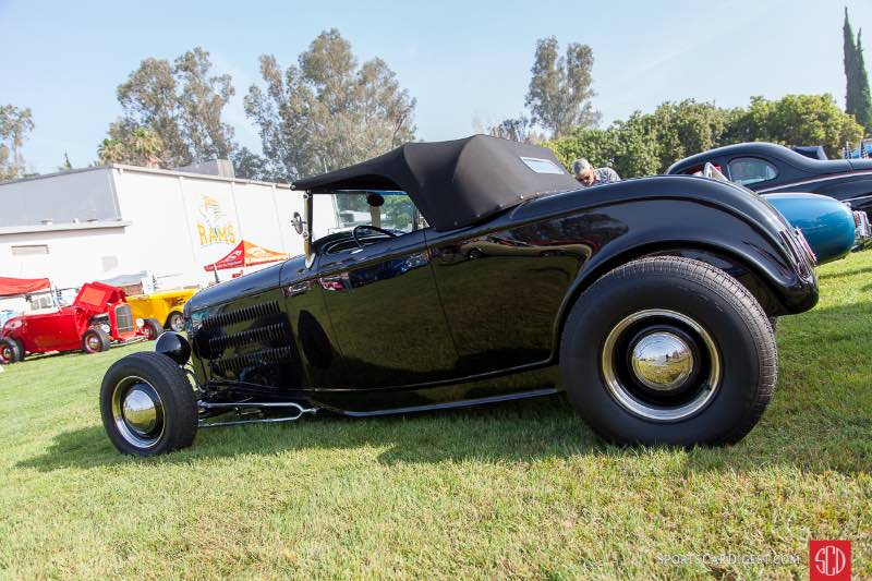 1932 Ford Roadster, owned by Gene Hopcus