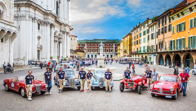 Alfa Romeo Historic Museum at 2017 Mille Miglia