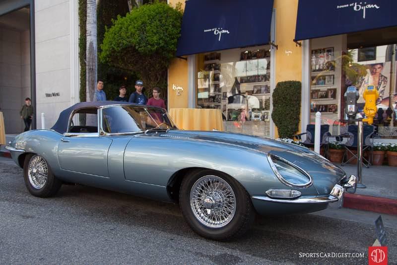 1961 Jaguar XKE Series 1 Roadster, owned by Stephen Russell