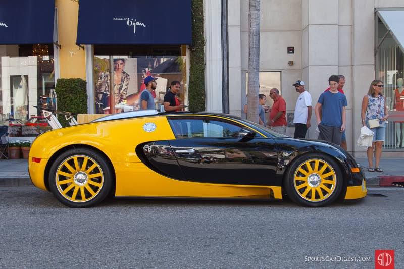 2008 Bugatti Veyron, owned by Nicolas Bijan
