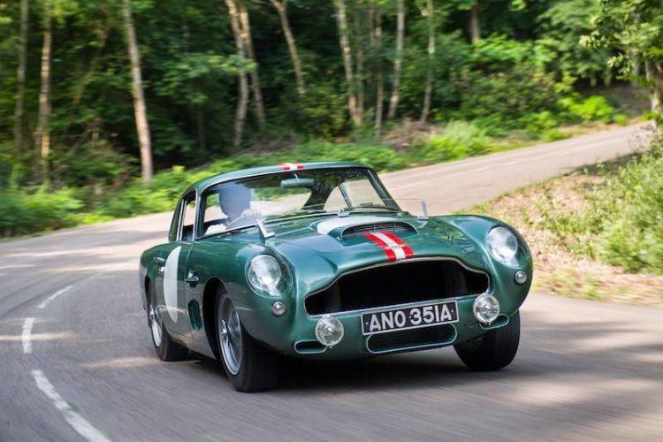 1959 Aston Martin DB4GT (photo: Tim Scott Fluid Images)