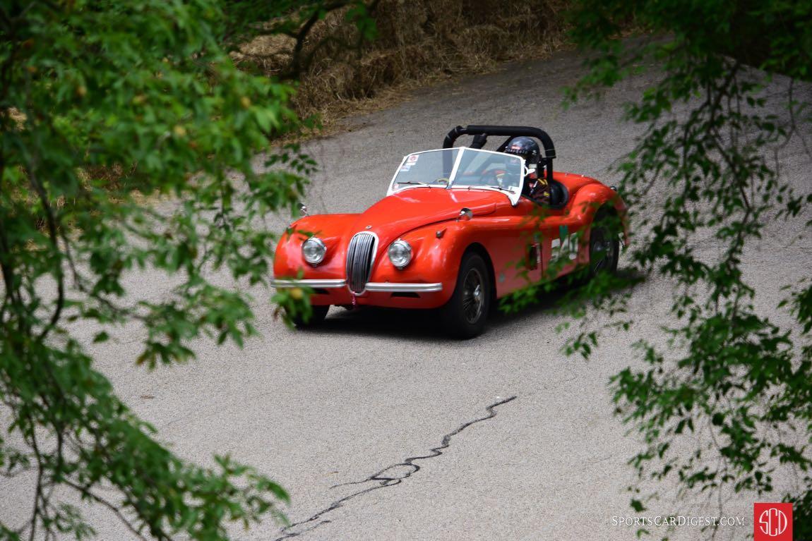 1954 Jaguar 120M- Ralph Steinberg.