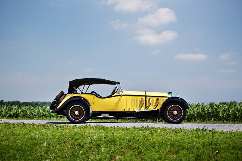 1928 Mercedes-Benz S-Type 26/180 Sports Tourer (Photo by Brian Henniker)