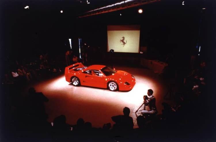 Official Presentation, Maranello (July 21, 1987)