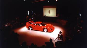 Official Presentation, Maranello (July 21, 1987)