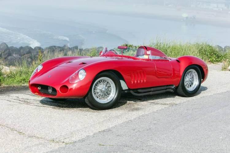 1957 Maserati 300S, chassis 3069 (photo: Pawel Litwinski)