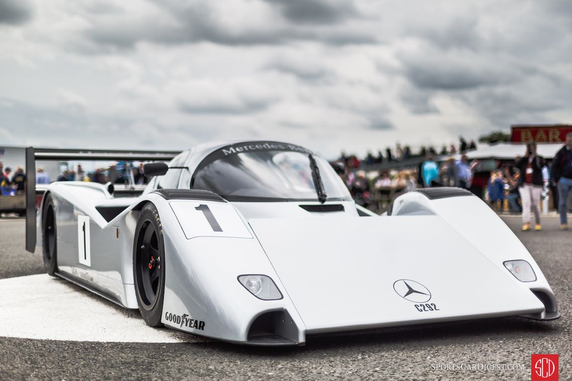 Mercedes-Benz C292 Group C prototype was intended for the 1992 World Sportscar Championship season as an evolution of the Mercedes-Benz C291, but never raced due to Mercedes-Benz withdrawing from sportscar racing after a dismal 1991 season