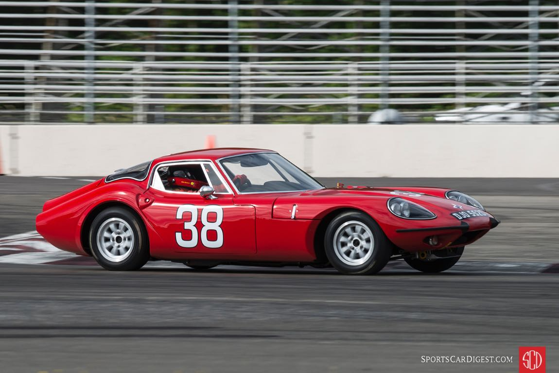 Mike Denman - 1966 Marcos 1800 GT