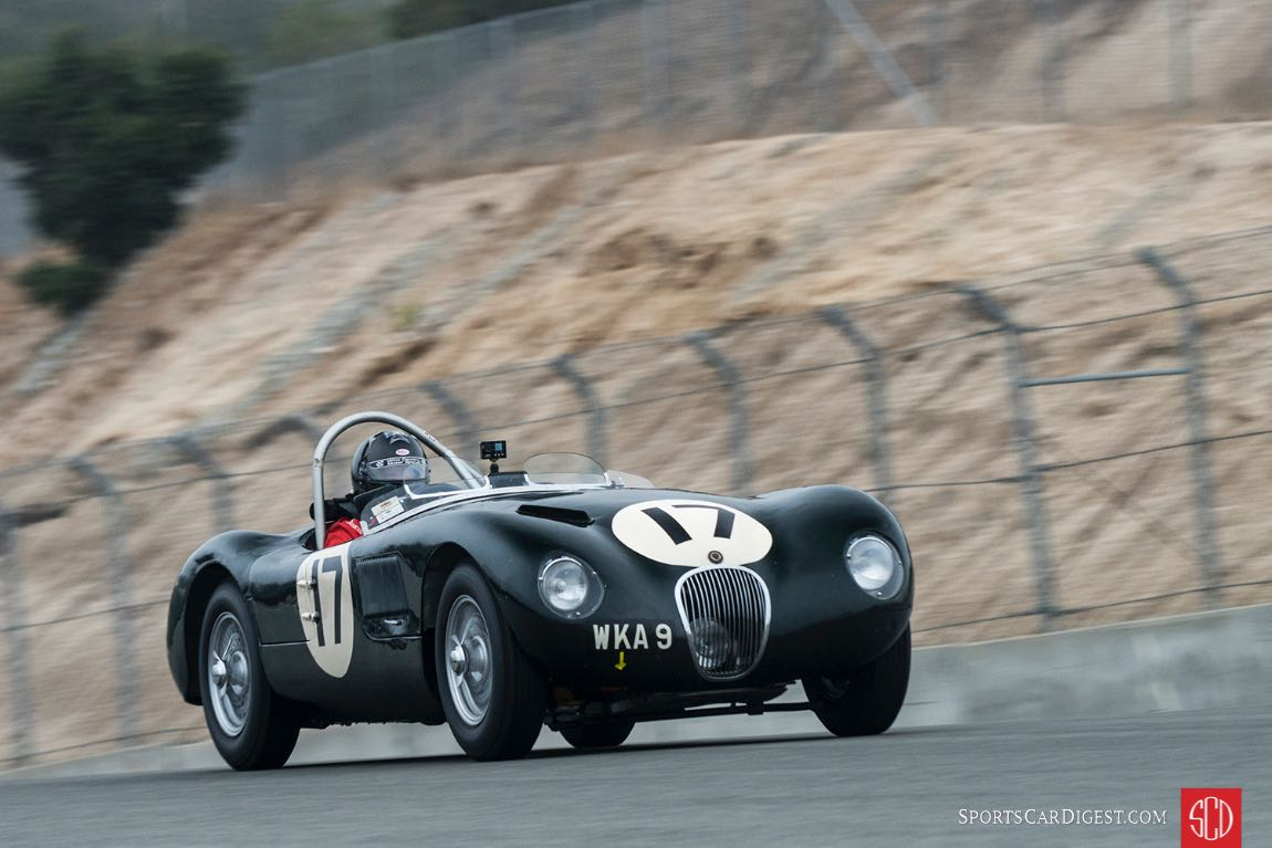 Dyke Ridgley's 1953 Jaguar C-Type XKC 053