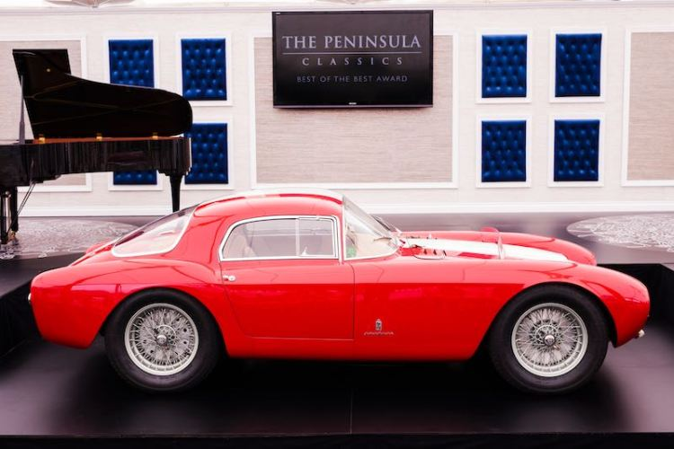 1954 Maserati A6GCS53 Berlinetta by Pinin Farina
