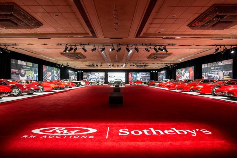 Ferrari Collection - RM Sotheby's Monterey 2017