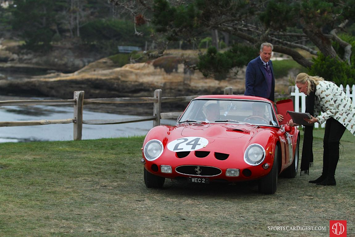 1963 Ferrari 250 GTO Scaglietti Berlinetta chassis 4293GT finished first in class and second overall at the 1963 Le Mans 24 Hours driven by Jean Blaton and Gerhard Langlois van Ophem