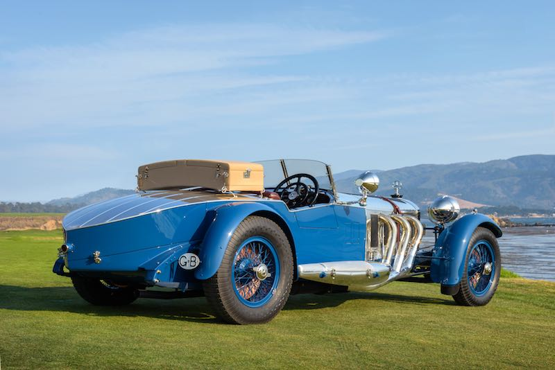 1929 Mercedes-Benz S Barker Tourer Bruce R. McCaw, Bellevue, WA Copyright Kimball Studios / Courtesy of Pebble Beach Concours d'Elegance