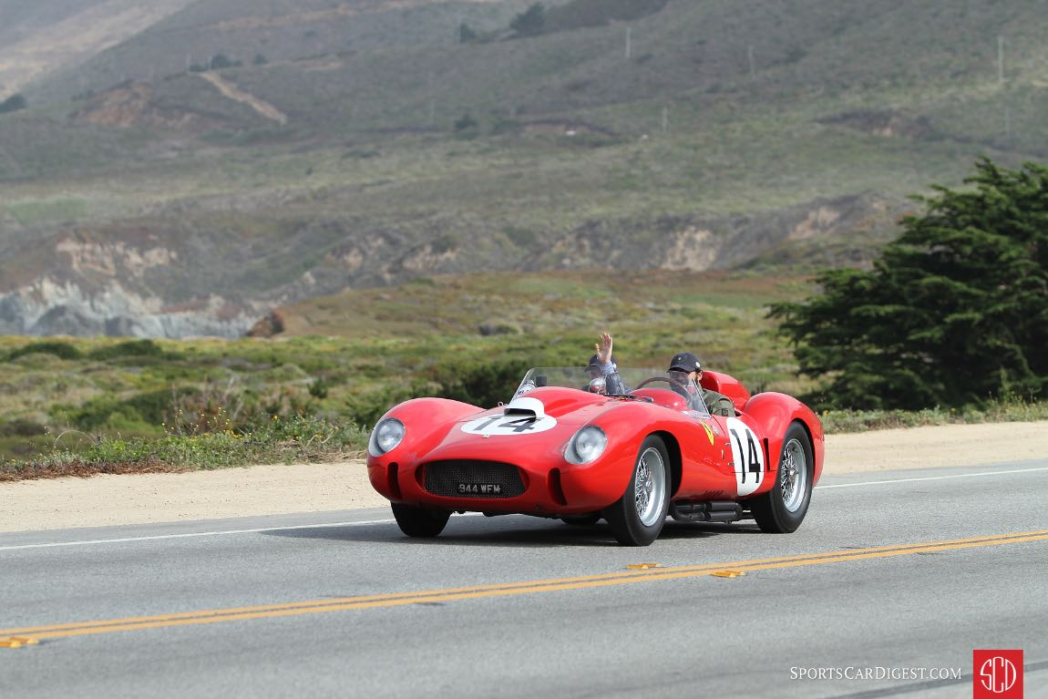 1958 Ferrari 250 Testa Rossa Scaglietti Spider 0728TR, winner of the 24 Hours of Le Mans in 1958 at the hands of Phil Hill and Olivier Gendebien