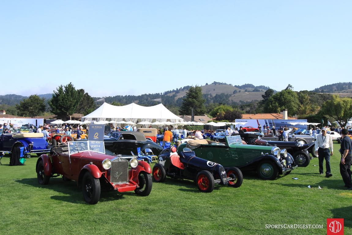 Pre-War Sports and Racing Class - Quail Motorsports Gathering 2017