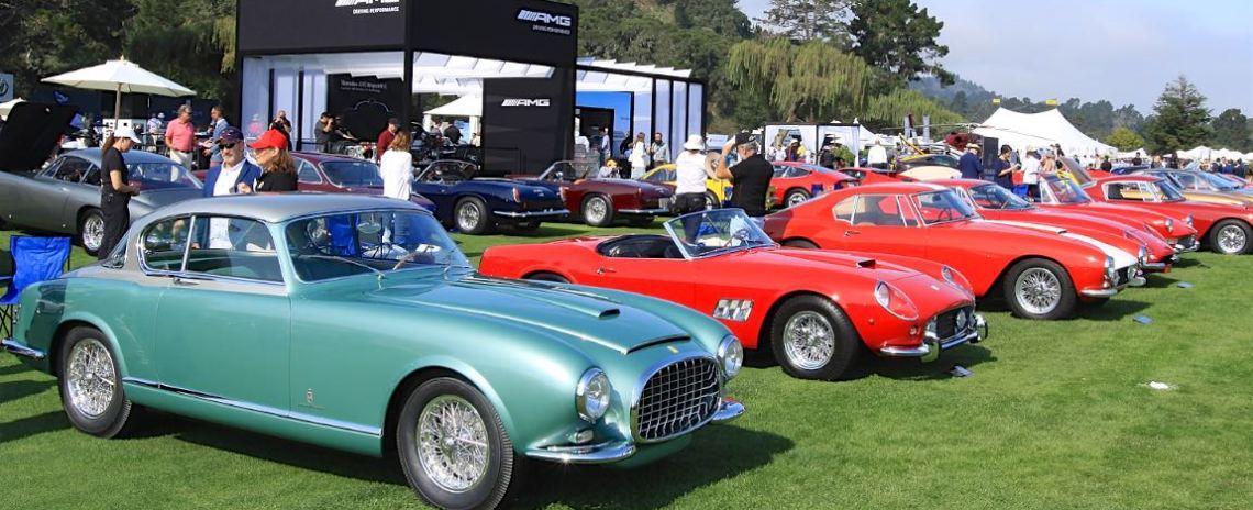 1952 Ferrari 342 America and the Ferrari Class - Quail Motorsports Gathering 2017