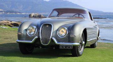 1954 Jaguar XK120 SE Pinin Farina Coupe (photo: Richard Michael Owen)