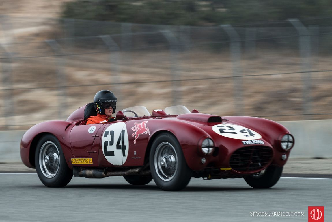 Peter Giddings in his Lancia D24/5.