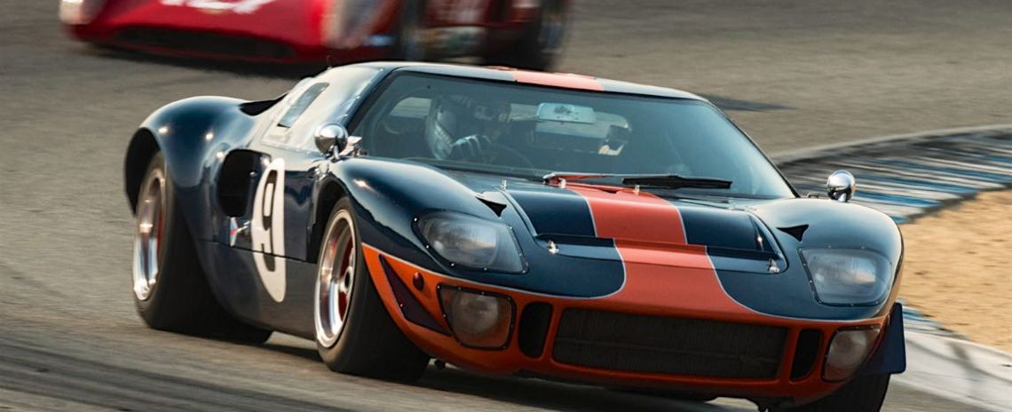 Alex MacAllister - 1966 Ford GT40