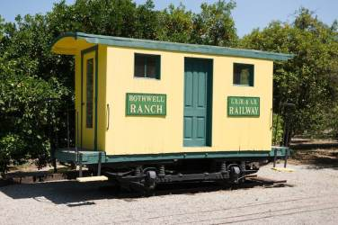 Bothwell Ranch Caboose