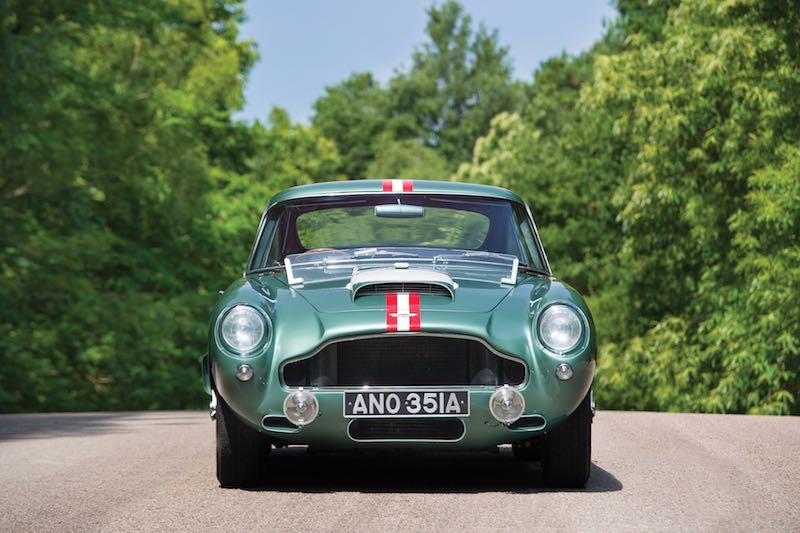 1959 Aston Martin DB4GT Prototype Front