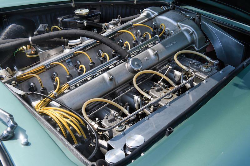 1959 Aston Martin DB4GT Prototype Engine