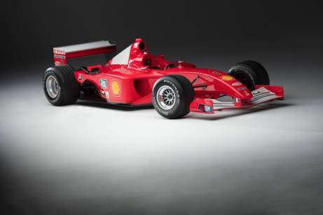Ferrari F2001, chassis 211 (photo: Pawel Litwinski)
