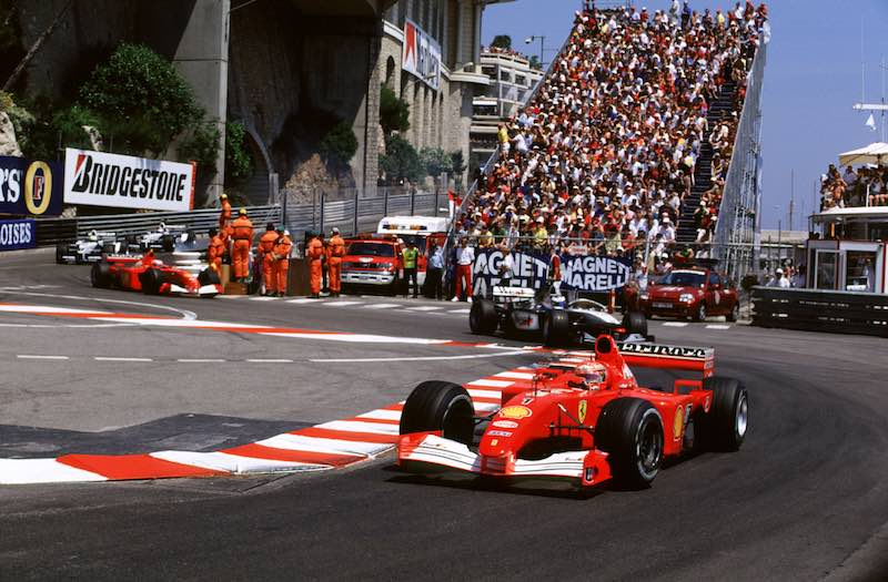Ex schumacher ferrari f1 offered for sale for Garage mercedes monaco