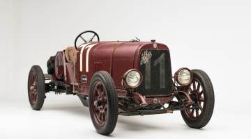1921 Alfa Romeo G1 (photo: Robin Adams)