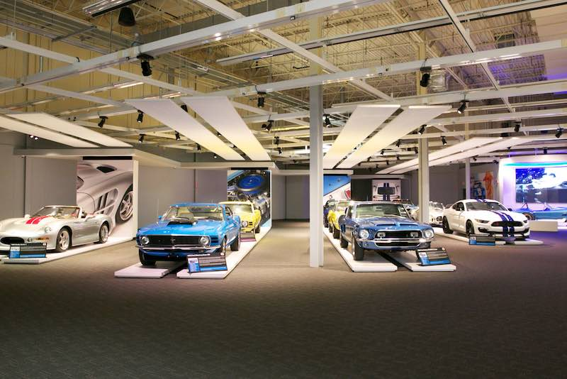 Ford / Shelby Gallery - Newport Car Museum