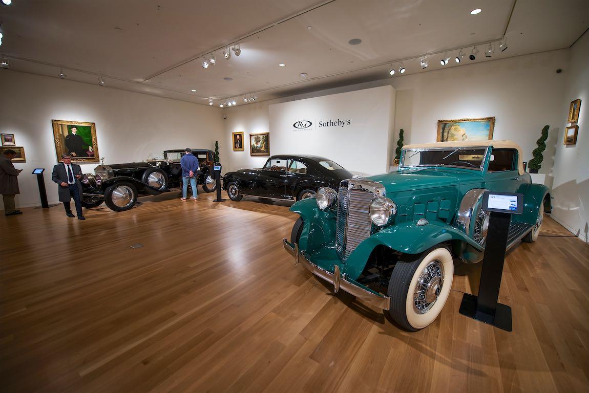 1932 Marmon Sixteen Convertible Coupe by LeBaron