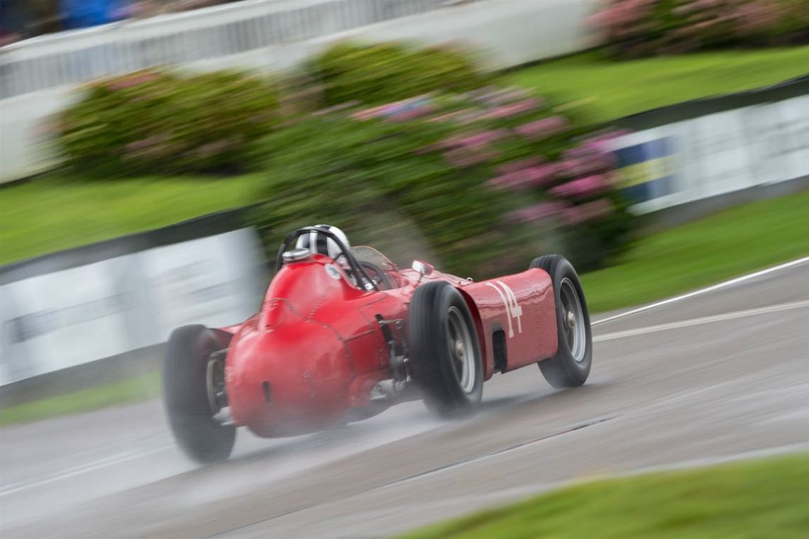 Lancia-Ferrari D50A at the Goodwood Revival (photo: Julien Mahiels)