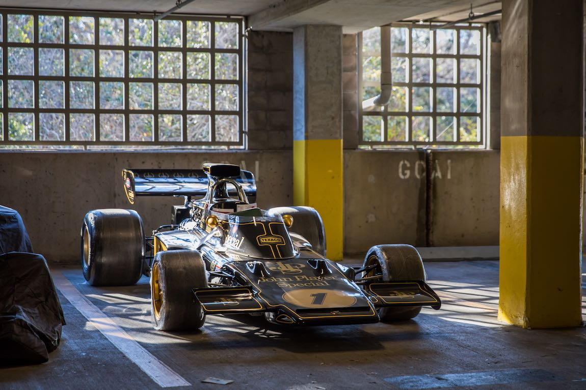 1970 Lotus 2/5 - Emerson Fittipaldi's first World Championship victory came in chassis 5 in October 1970 in only his fourth F1 World Championship start. (photo: DeremerStudios.com)