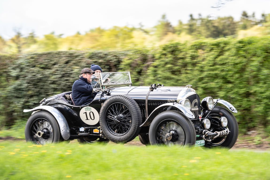 Car 10. Bill Cleyndert (GB) / Dan Harrison (GB) 1925 Bentley 3-4 1/2