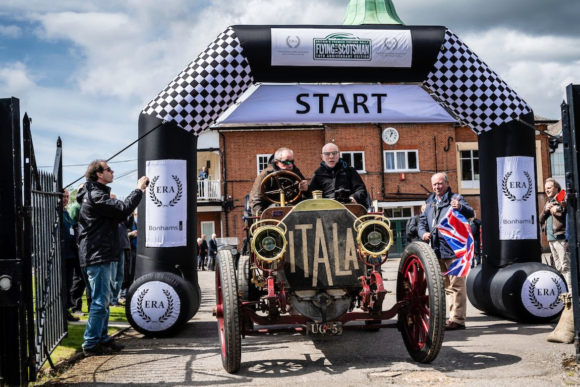 Car 01. David Ayre (GB) / Karen Ayre (GB) 1907 Itala 40