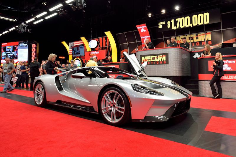 Mecum Indianapolis Auction Results - Car show in indianapolis this weekend