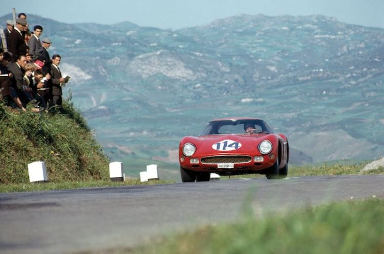 1962 Ferrari 250 GTO, chassis 3413 GT (photo: Klemantaski Collection)