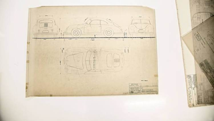 Porsche Construction Drawings