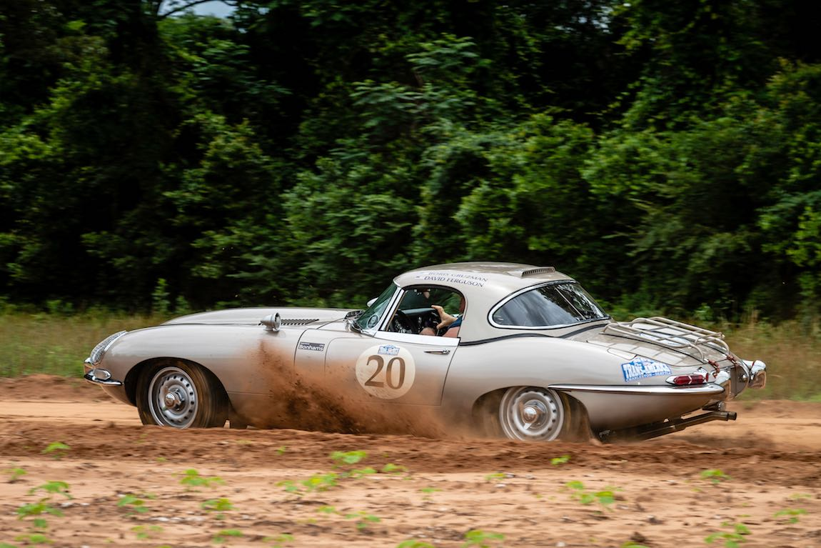 Boris Gruzman (USA) / Dave Ferguson (USA) 1965 Jaguar E-Type Roadster