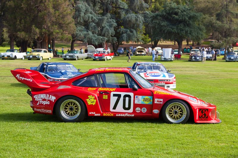 """1979 """"Hawaiian Tropic"""" Porsche 935 that Paul Newman drove to class win and 2nd overall victory in the 1979 24 Hours of Le Mans."""