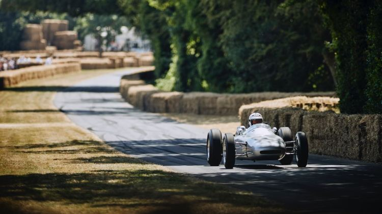 Porsche's only purpose-built F1 car, the 804 (photo: Dominic James)