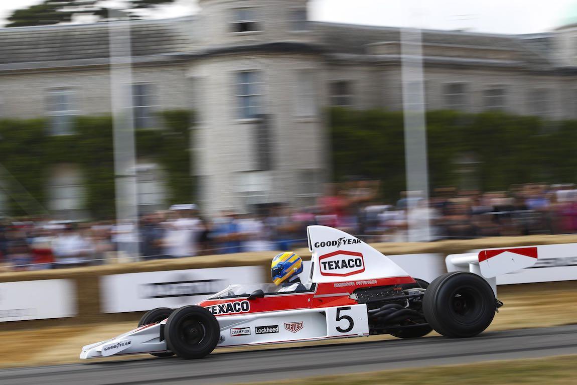 Ex-Emerson Fittipaldi McLaren M23
