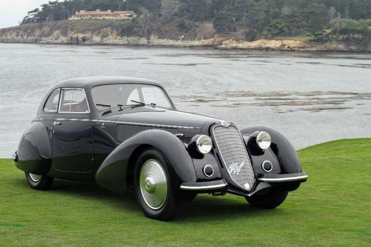 1937 Alfa Romeo 8C 2900B Touring Berlinetta