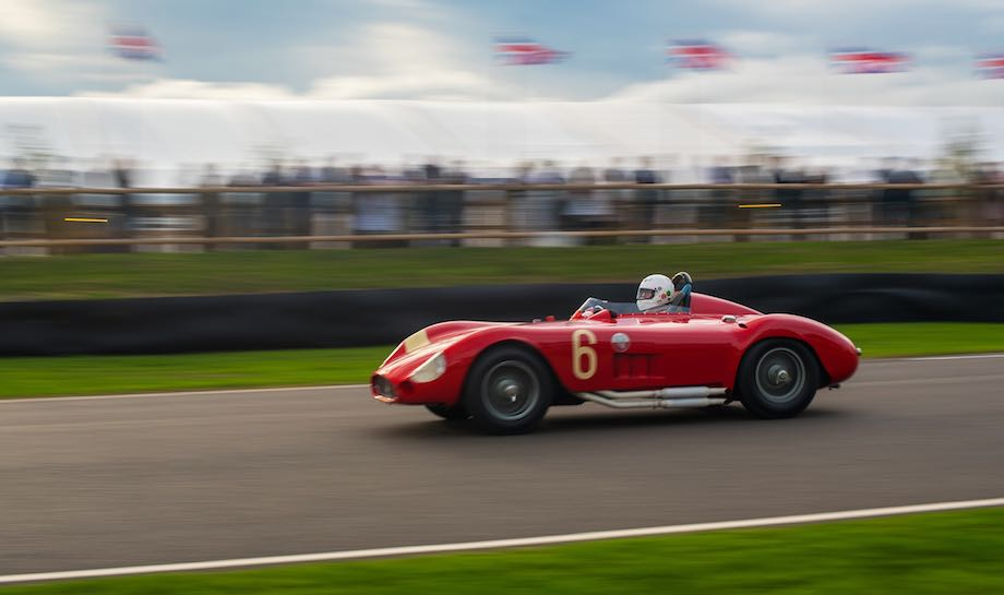 1955 Maserati 300S at speed