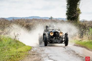 Readers chose Gerard Brown's outstanding capture of the Bentley Super Sports making a splash at the Flying Scotsman Rally as our best vintage car racing photo of 2016