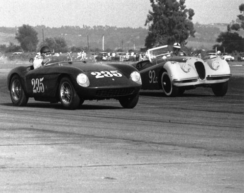 1954 Ferrari 500 Mondial Spider, chassis 0438MD (photo: J. Edgar Motorsports)