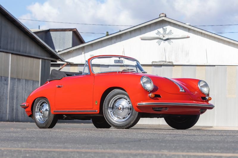 1963 Porsche 356 Carrera 2 GS Cabriolet (photo: Pawel Litwinski)