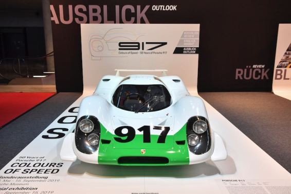 Exactly 50 years on, the 917-001 was presented at the Retro Classics in Stuttgart, restored to its original condition as in 1969.