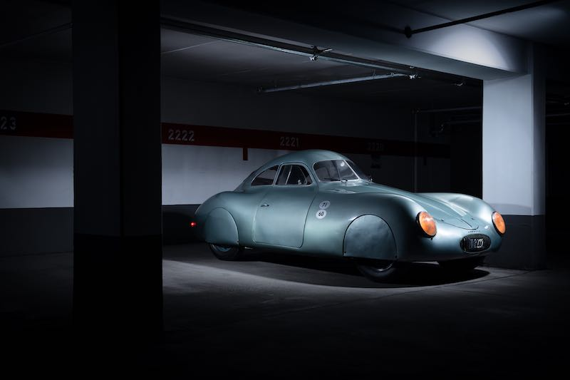 1939 Porsche Type 64 Berlin-Rome, Number 3